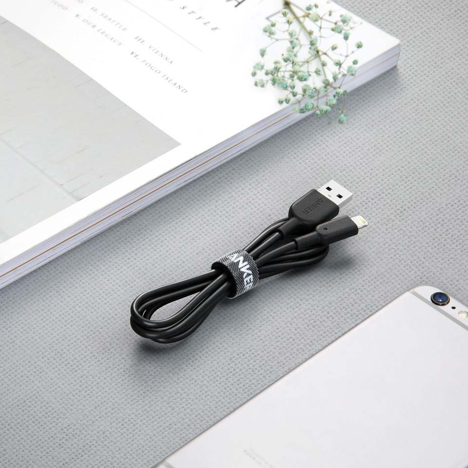 Anker 3ft 0 9m Powerline Ii Lightning To Usb Cable